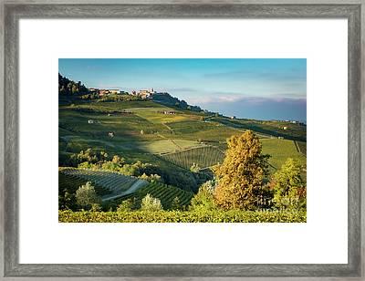 Piemonte View Framed Print by Brian Jannsen