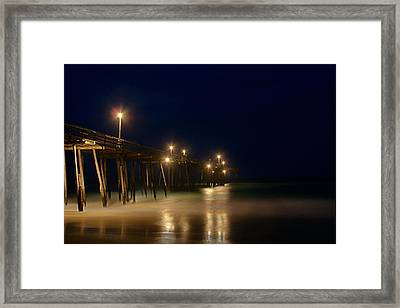 Pier Framed Print by Andreas Freund
