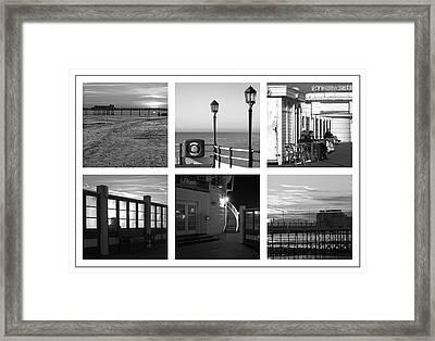 Pier Moods Framed Print by Hazy Apple