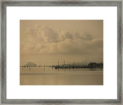 Pier Framed Print by Vari Buendia