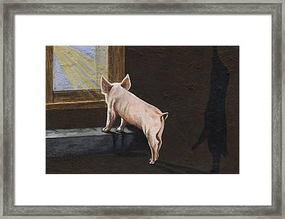 Free Me Framed Print by Twyla Francois