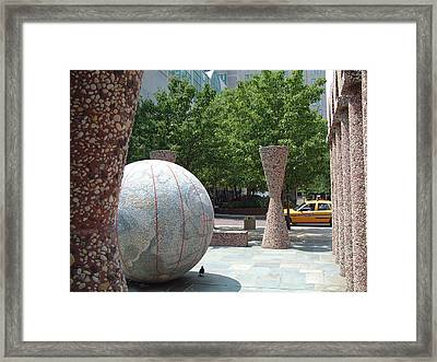 Pigeon Crushing Time Framed Print by Kevin  Sherf
