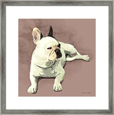 Piglet Framed Print by Simon Sturge