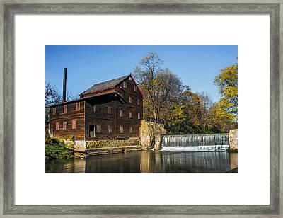 Pine Creek Grist Mill 2 Framed Print by Paul Freidlund