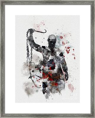 Pinhead Framed Print by Rebecca Jenkins