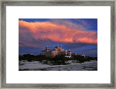 Pink Cloud Framed Print by David Lee Thompson