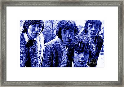 Pink Floyd Collection Framed Print by Marvin Blaine