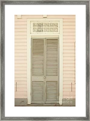 Pink House Framed Print by Juli Scalzi