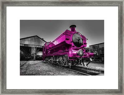 Pink Pannier  Framed Print by Rob Hawkins