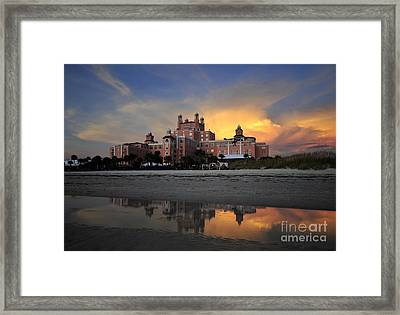 Pink Reflections Framed Print by David Lee Thompson