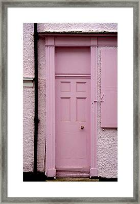 Pink Framed Print by Roberto Alamino