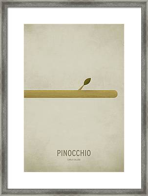 Pinocchio Framed Print by Christian Jackson