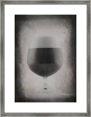 Pint Glass Framed Print by Matthew Graves