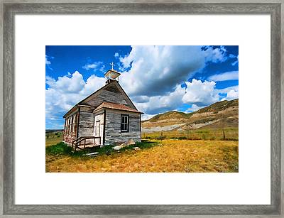 Pioneer Church 1 Framed Print by Lawrence Christopher