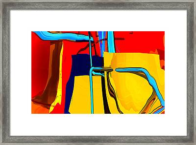 Pipe Dream Framed Print by Richard Rizzo