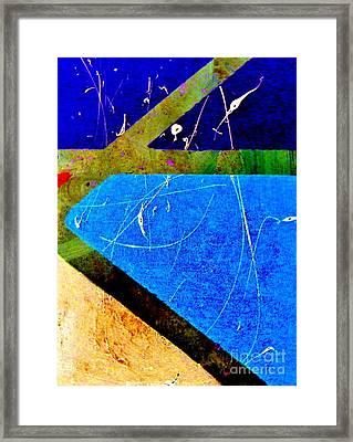Pique Framed Print by Lisa Kaiser