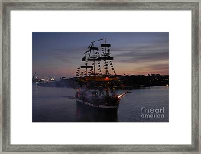 Pirate Invasion Framed Print by David Lee Thompson