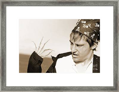 Pirate Turning Undead Framed Print by Jorgo Photography - Wall Art Gallery