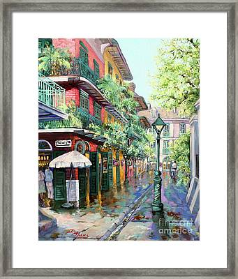 Pirates Alley Framed Print by Dianne Parks