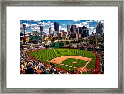 Pirates Day Game Framed Print by Joshua Peacock