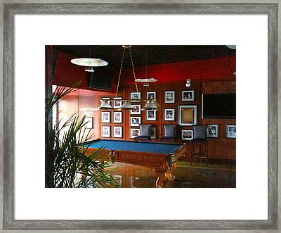 Pirates Gunners Framed Print by Deb Sagan