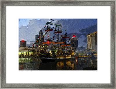 Pirates Plunder Framed Print by David Lee Thompson