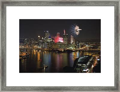 Pittsburgh 3 Framed Print by Emmanuel Panagiotakis
