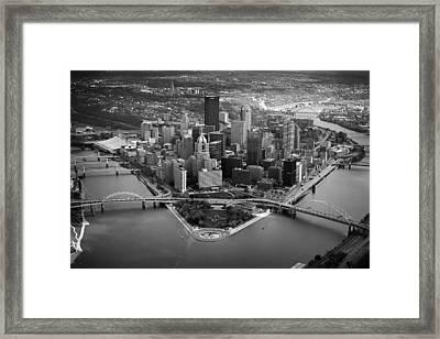 Pittsburgh 8 Framed Print by Emmanuel Panagiotakis