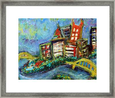 Pittsburgh  Framed Print by Jason Gluskin
