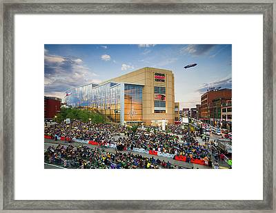 Pittsburgh Penguins Stanley Cup Champs 2016 Framed Print by Emmanuel Panagiotakis