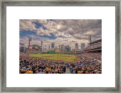 Pittsburgh Pirates 1a Pnc Park Framed Print by David Haskett