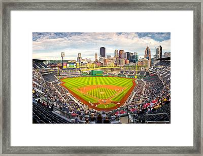 Pittsburgh Pirates  Framed Print by Emmanuel Panagiotakis