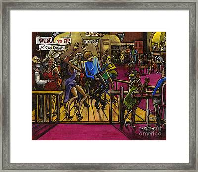 Place To Be Framed Print by Toni  Thorne