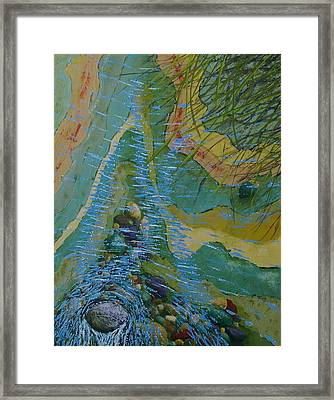 Placid Pile-up Framed Print by Ron Smothers