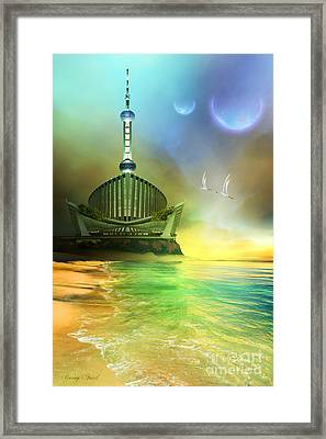 Planet Paladin Framed Print by Corey Ford