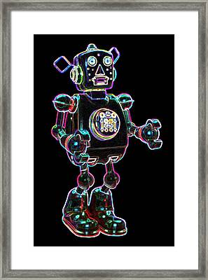 Planet Robot Framed Print by DB Artist