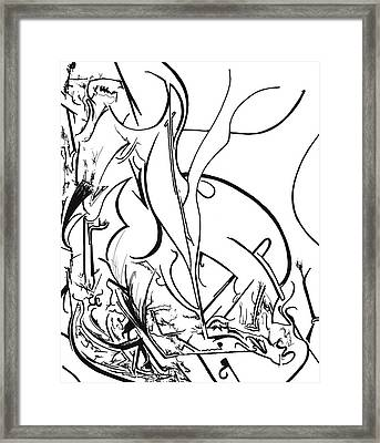 Plasmogamy 41 Framed Print by TripsInInk The One and Only