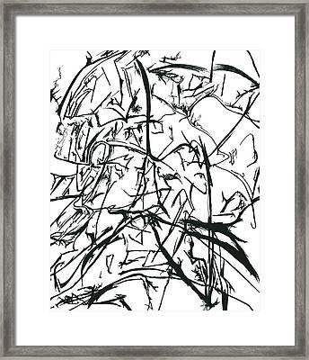Plasmogamy021 Framed Print by TripsInInk
