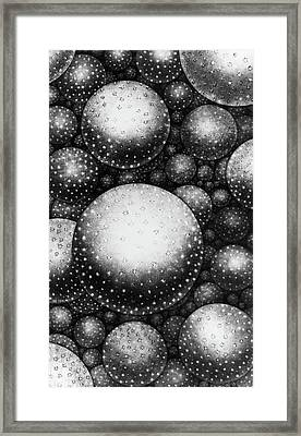 Plate Xxxi From The Original Theory Of The Universe By Thomas Wright  Framed Print by English School