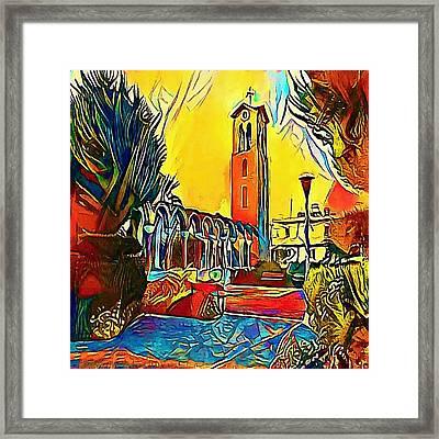 Platz - My Www Vikinek-art.com Framed Print by Viktor Lebeda