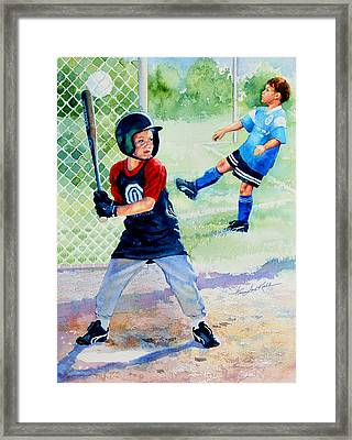 Play Ball Framed Print by Hanne Lore Koehler