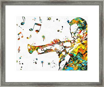 Play It Miles Framed Print by Dan Sproul