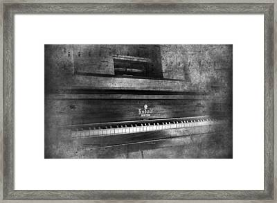Play Me A Memory Framed Print by Peter Chilelli