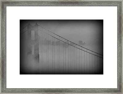 Play Misty For Me Framed Print by Edward Kreis