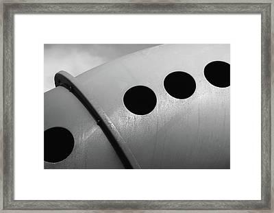 Playground Bridge Framed Print by Richard Rizzo