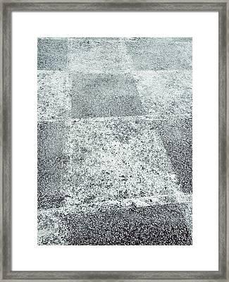 Playground Chess Pattern Framed Print by Tom Gowanlock
