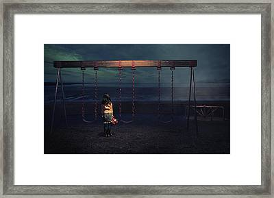 Playground Framed Print by Fang Tong