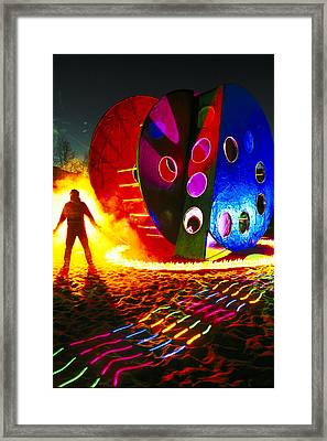 Playground Framed Print by Garry Gay