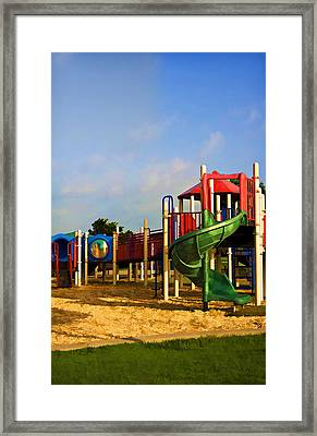 Playground I Framed Print by Ricky Barnard