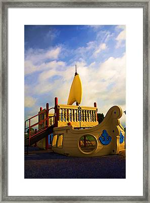 Playground II Framed Print by Ricky Barnard